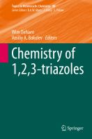 Chemistry of 1,2,3-triazoles [electronic resource]