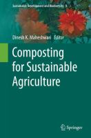 Composting for Sustainable Agriculture [electronic resource]