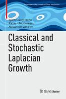 Classical and Stochastic Laplacian Growth [electronic resource]