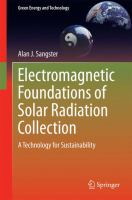 Electromagnetic Foundations of Solar Radiation Collection [electronic resource] : A Technology for Sustainability