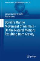 Borelli's On the Movement of Animals - On the Natural Motions Resulting from Gravity [electronic resource]