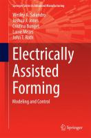Electrically assisted forming : modeling and control