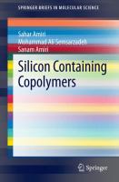 Silicon Containing Copolymers [electronic resource]