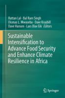 Sustainable Intensification to Advance Food Security and Enhance Climate Resilience in Africa [electronic resource]
