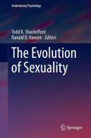 The Evolution of Sexuality [electronic resource]