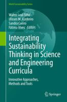 Integrating Sustainability Thinking in Science and Engineering Curricula [electronic resource] : Innovative Approaches, Methods and Tools