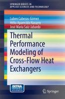 Thermal performance modeling of cross-flow heat exchangers