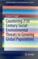 Countering 21st Century Social-Environmental Threats to Growing Global Populations [electronic resource]