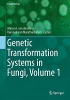 Genetic Transformation Systems in Fungi, Volume 1 [electronic resource]