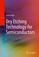 Dry Etching Technology for Semiconductors [electronic resource]