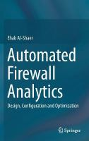 Automated firewall analytics : design, configuration and optimization cover image