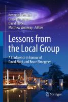 Lessons from the Local Group [electronic resource] : A Conference in honour of David Block and Bruce Elmegreen
