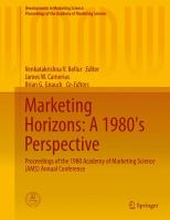 Marketing Horizons: A 1980's Perspective [electronic resource] : Proceedings of the 1980 Academy of Marketing Science (AMS) Annual Conference