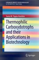 Thermophilic Carboxydotrophs and their Applications in Biotechnology [electronic resource]