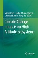 Climate change impacts on high-altitude ecosystems [electronic resource]