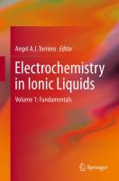 Electrochemistry in Ionic Liquids [electronic resource] : Volume 1: Fundamentals
