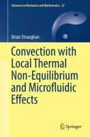 Convection with Local Thermal Non-Equilibrium and Microfluidic Effects [electronic resource]