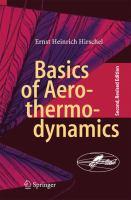 Basics of Aerothermodynamics [electronic resource] : Second, Revised Edition