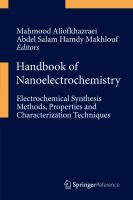 Handbook of Nanoelectrochemistry [electronic resource] : Electrochemical Synthesis Methods, Properties, and Characterization Techniques