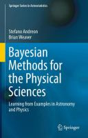 Bayesian methods for the physical sciences [electronic resource] : learning from examples in astronomy and physics