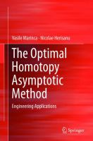 The optimal homotopy asymptotic method [electronic resource] : engineering applications