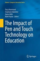 The Impact of Pen and Touch Technology on Education [electronic resource]
