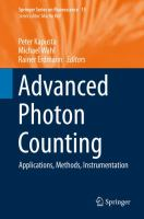 Advanced Photon Counting [electronic resource] : Applications, Methods, Instrumentation