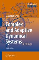 Complex and Adaptive Dynamical Systems [electronic resource] : A Primer