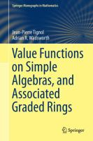 Value functions on simple algebras, and associated graded rings [electronic resource]