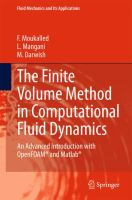The Finite Volume Method in Computational Fluid Dynamics [electronic resource] : An Advanced Introduction with OpenFOAM® and Matlab