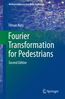 Fourier Transformation for Pedestrians [electronic resource]
