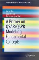 A Primer on QSAR/QSPR Modeling [electronic resource] : Fundamental Concepts