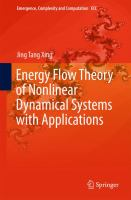 Energy flow theory of nonlinear dynamical systems with applications [electronic resource]