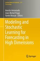 Modeling and Stochastic Learning for Forecasting in High Dimensions [electronic resource]