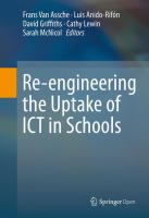 Re-engineering the Uptake of ICT in Schools [electronic resource]