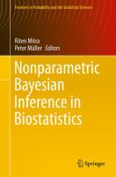 Nonparametric Bayesian Inference in Biostatistics [electronic resource]