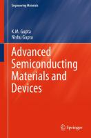 Advanced Semiconducting Materials and Devices [electronic resource]