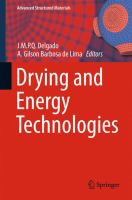 Drying and Energy Technologies [electronic resource]