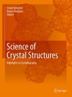 Science of Crystal Structures [electronic resource] : Highlights in Crystallography