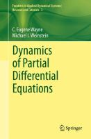 Dynamics of Partial Differential Equations [electronic resource]
