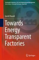 Towards Energy Transparent Factories [electronic resource]