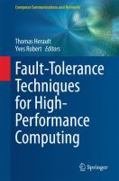 Fault-Tolerance Techniques for High-Performance Computing [electronic resource]