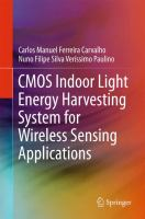 CMOS Indoor Light Energy Harvesting System for Wireless Sensing Applications [electronic resource]