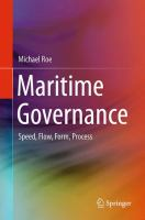 Maritime Governance [electronic resource] : Speed, Flow, Form Process