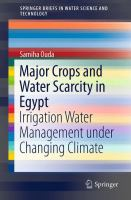 Major Crops and Water Scarcity in Egypt [electronic resource] : Irrigation Water Management under Changing Climate