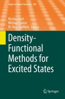 Density-functional methods for excited states [electronic resource]