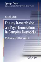 Energy Transmission and Synchronization in Complex Networks [electronic resource] : Mathematical Principles