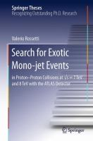 Search for Exotic Mono-jet Events [electronic resource] : in Proton-Proton Collisions at ?s=7 TeV and 8 TeV with the ATLAS Detector