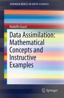 Data Assimilation: Mathematical Concepts and Instructive Examples [electronic resource]