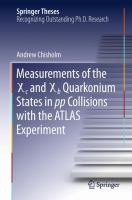 Measurements of the X c and X b Quarkonium States in pp Collisions with the ATLAS Experiment [electronic resource]